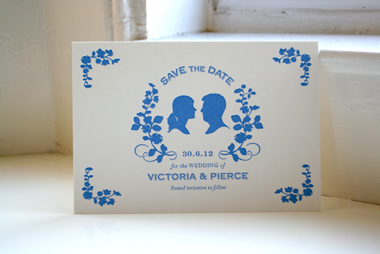 Silhouette Save the Date