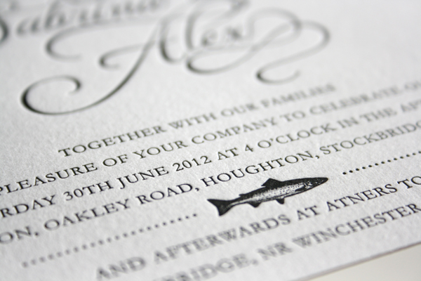 Fish Wedding Invitations