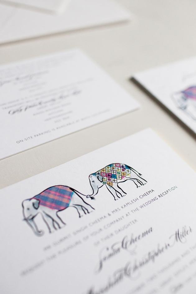 Elephant Wedding Invitations Elephant Wedding
