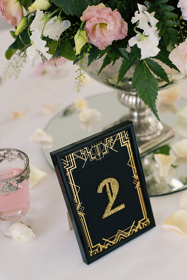Gold Foil Printed Wedding Stationery