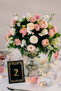 Art Deco Wedding Decoration